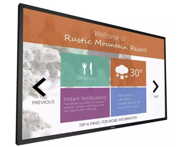 """55"""" 55BDL4051T/00 Signage Solutions Multi-Touch Full HD Display Android"""